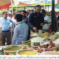 Nadir Chatta Visit Ramzan Bazar