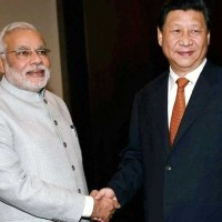 Narendra Modi And Xe Chen Ping