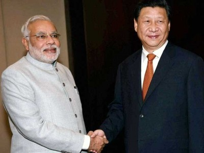 Narendra Modi And Xe Chen Ping