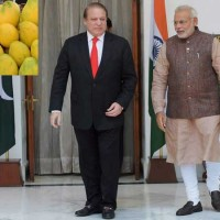 Narendra Modi and Nawaz Sharif