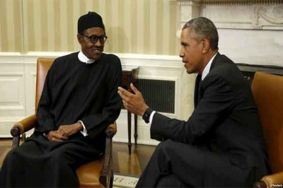 Obama, Nigerian President, Meeting