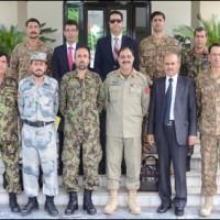 Pak Afghan Army Officers