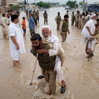 Pak Army Flood Rescue