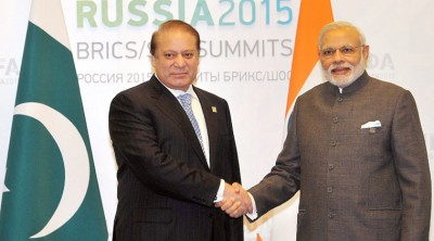 Pakistan And India Prime Ministers Meeting