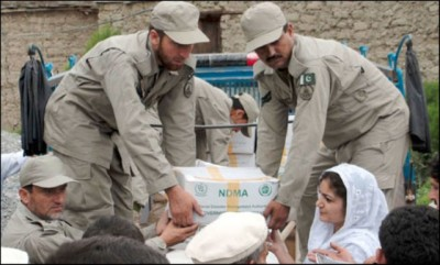Pakistan Army Relief Operations