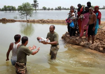 Pakistan Army Relief and Rescue Operations