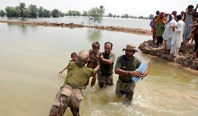 Pakistan Flood Rescue