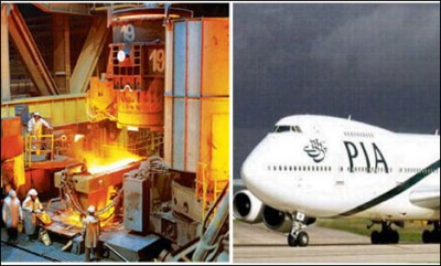 Pakistan Steel And PIA