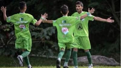 Pakistani Street Child, Football Team