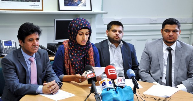 Press Conference Birmingham City Council on Burma Issue UK
