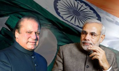 Prime Minister Nawaz Sharif and Indian Premier Narendra Modi