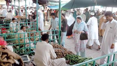 Ramadan Bazaar in Pakistan