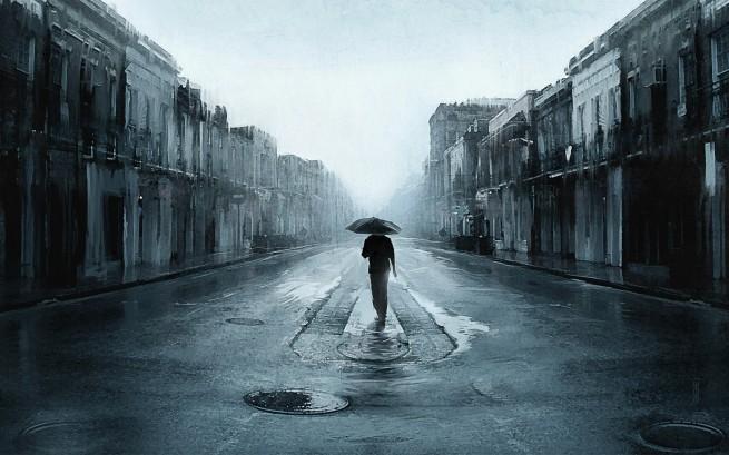Sad Walking
