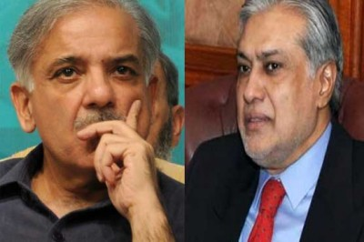 Shahbaz Sharif and Ishaq Dar