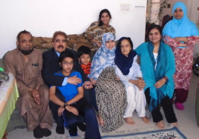 Shakeel Chugtai With Family