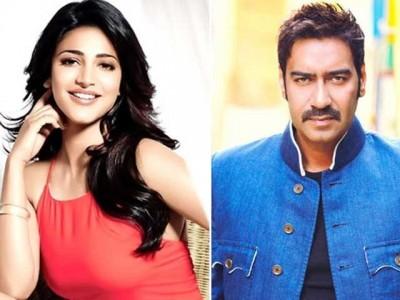 Shruti Haasan and Ajay Devgan