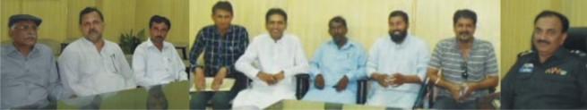 Tahir Jamil Sial  And  Roy Zamir Haq Met