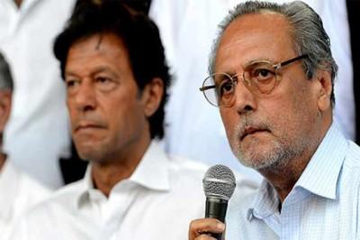 Wajeehuddin and Imran Khan