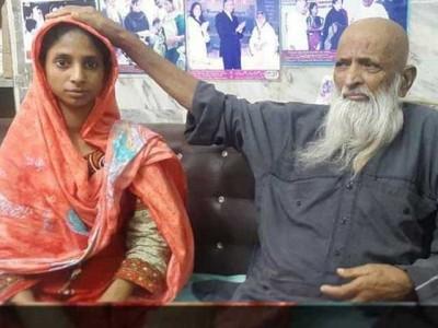 Abdul Sattar With Geeta
