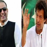 Aleem Khan and Imran Khan