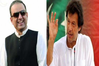 Aleem Khan and Imran Khan