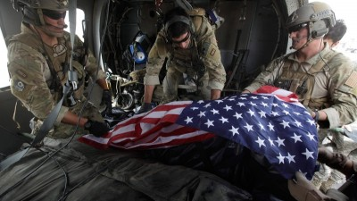 American Soldiers Dead Body