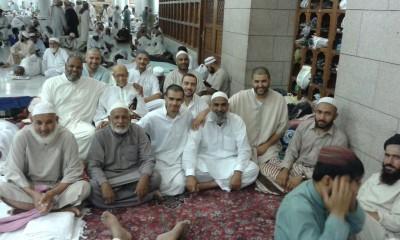 Eatkaf in Masjad Nabvi