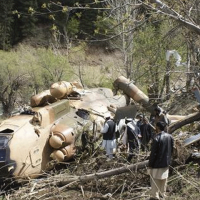 Army Aviation Helicopter Destroyed