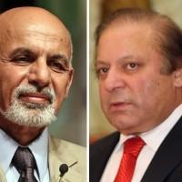 Ashraf Ghani and Nawaz