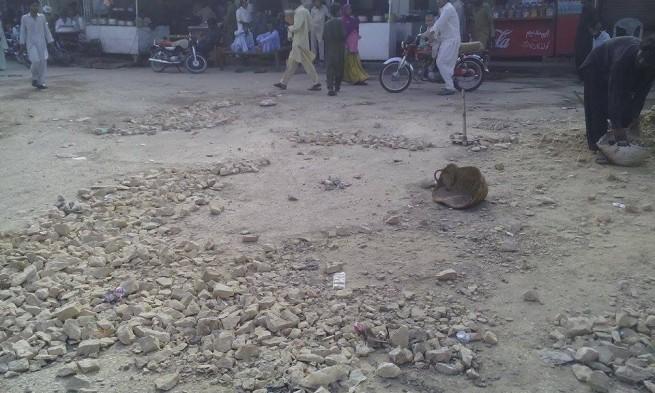 Bhit Shah City Road