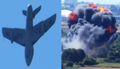 Britain Aircraft Crash