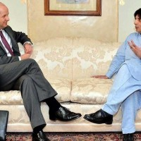 Ch Nisar And Philip Barton Met