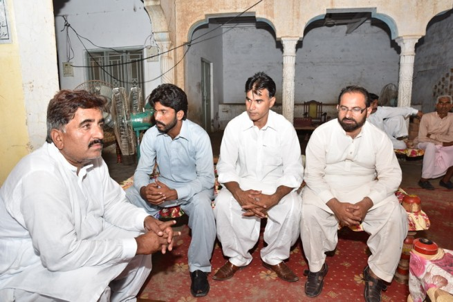 Condolences With Chaudhry Afzal Father Death