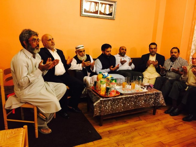 Condolences with Sheikh Zahid Fayyaz