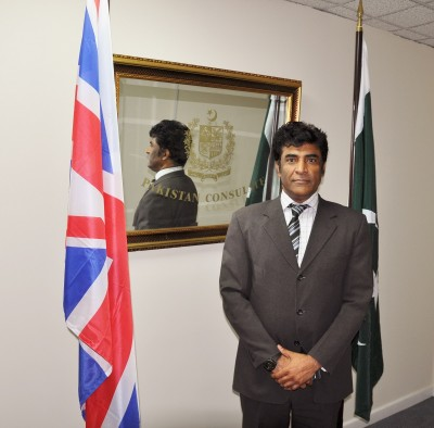 Consulate General Birmingham Syed Ahmed Maroof