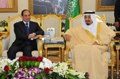 Egyptian President Sisi and Shah Salman