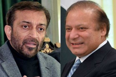 Farooq Sattar and Nawaz Sharif