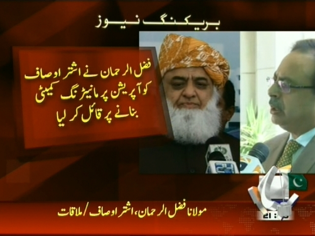 Fazlur Rahman Met– Breaking News – Geo