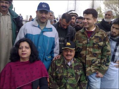 General Hameed Gul Family