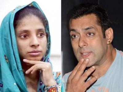 Gita And Salman Khan