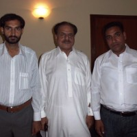 Hamid Gul and Irfan Tahir