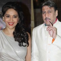 Jackie Shroff and Madhuri
