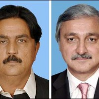 Jahangir Tareen And Siddique Baloch