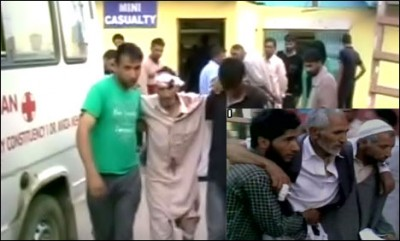 Kashmir Masjid  Attack