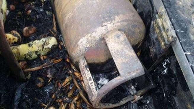 LP  Cylinder Exploding