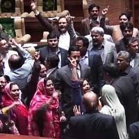 MQM Workers Protest