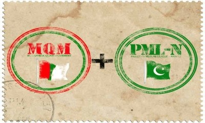 MQM and PML N Negotiations
