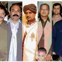 Mohammad Asif sister Wedding Group Photo
