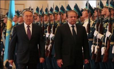 Nawaz Sharif And Kazakhstan President