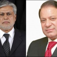 Nawaz Sharif and Ishaq Dar